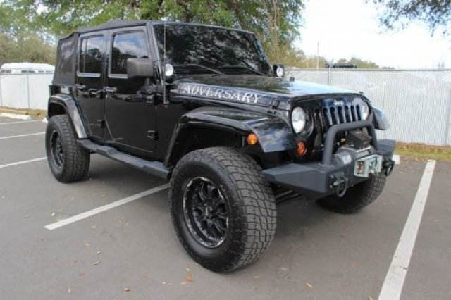 Pre Owned 2010 Jeep Wrangler Unlimited Sahara Convertible In Jacksonville P7034 Arlington Toyota