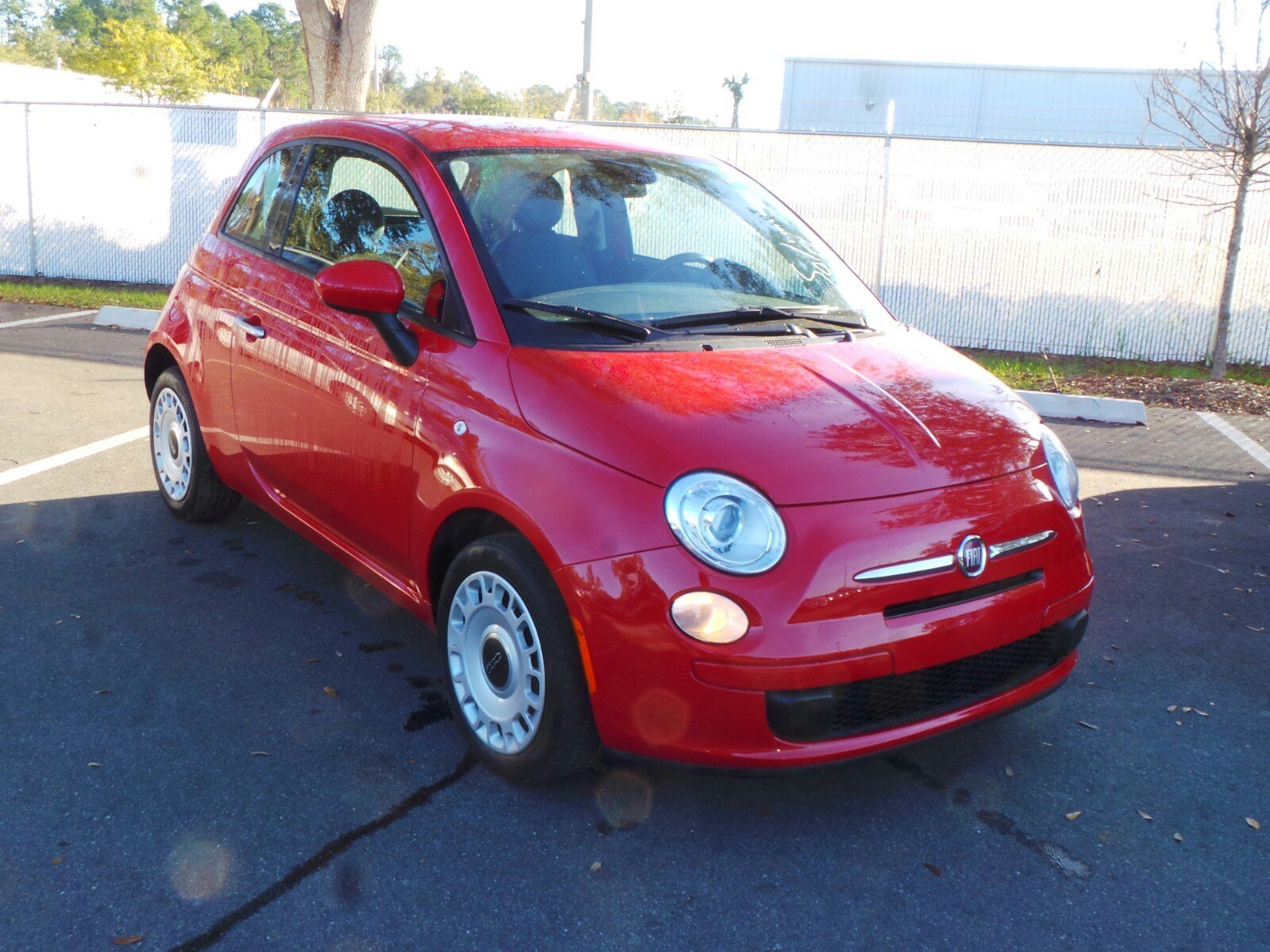 Pre Owned 2015 Fiat 500 Pop Hatchback In Jacksonville