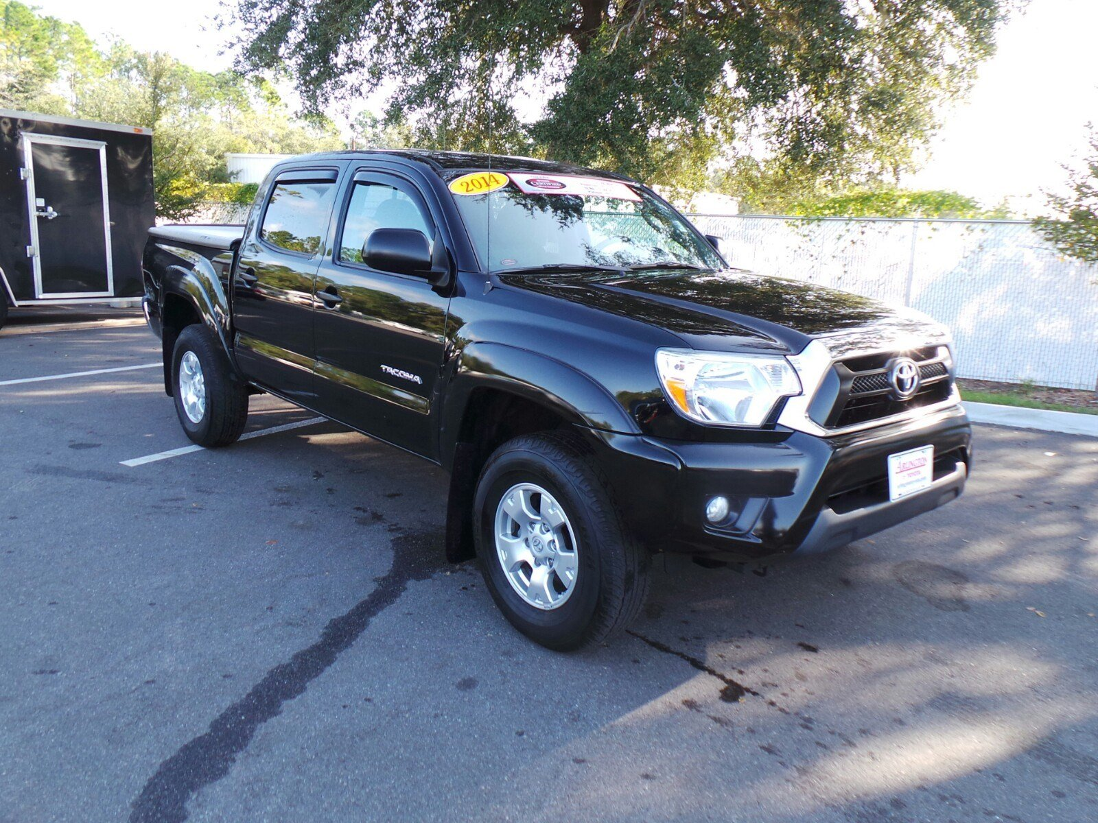 certified pre owned 2014 toyota tacoma prerunner double cab in jacksonville p8147 arlington. Black Bedroom Furniture Sets. Home Design Ideas