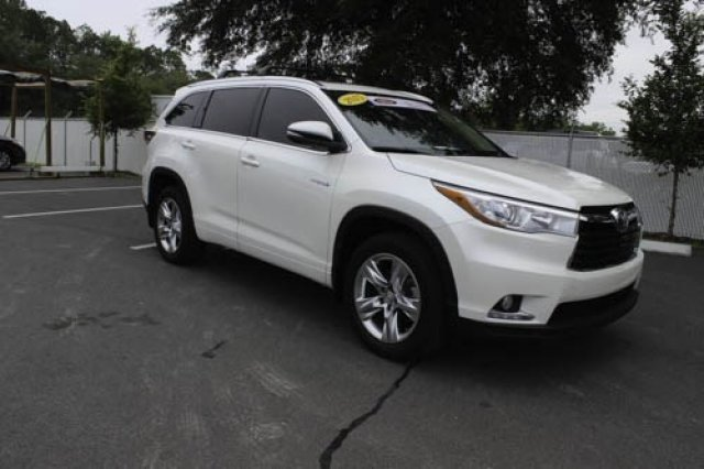 certified pre owned 2015 toyota highlander hybrid limited. Black Bedroom Furniture Sets. Home Design Ideas