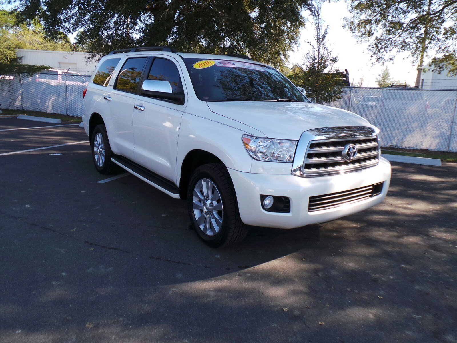 certified pre owned 2016 toyota sequoia platinum sport. Black Bedroom Furniture Sets. Home Design Ideas