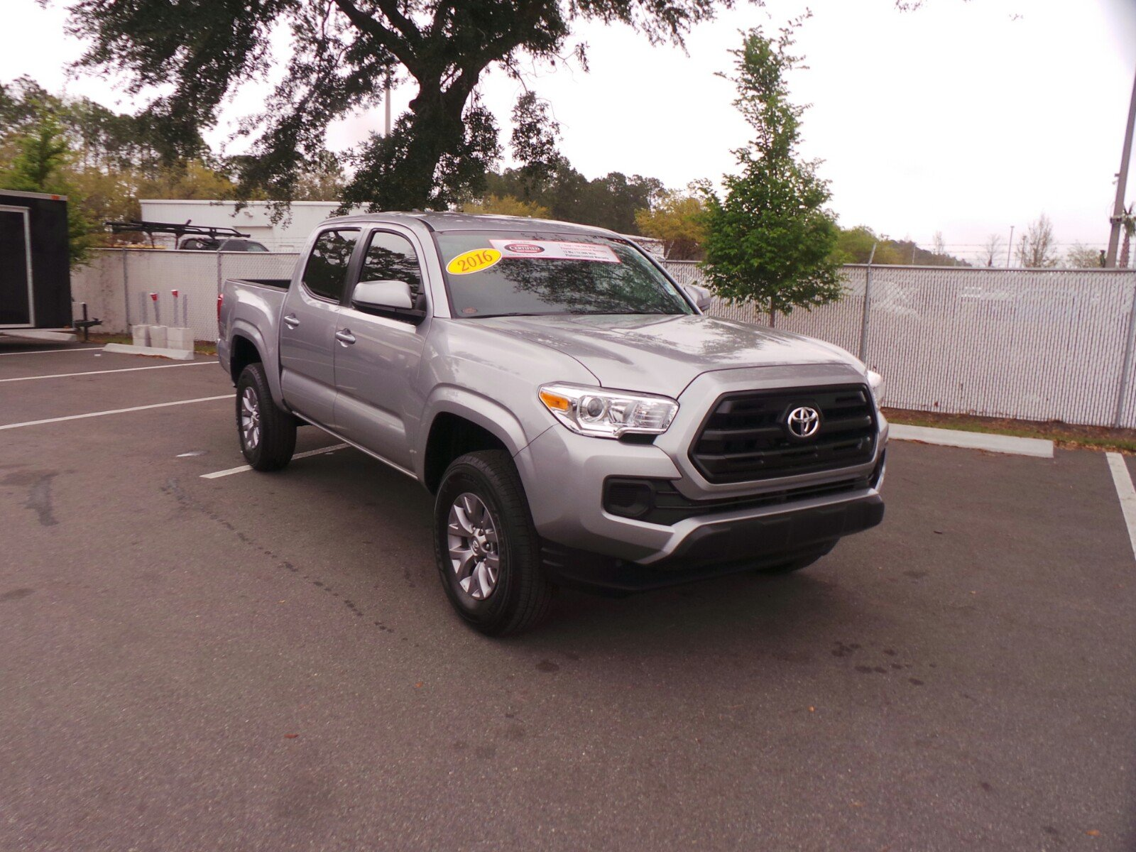 certified pre owned 2016 toyota tacoma double cab in jacksonville p8715a arlington toyota. Black Bedroom Furniture Sets. Home Design Ideas