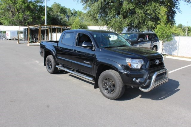 certified pre owned 2014 toyota tacoma prerunner double cab in jacksonville 66664a arlington. Black Bedroom Furniture Sets. Home Design Ideas