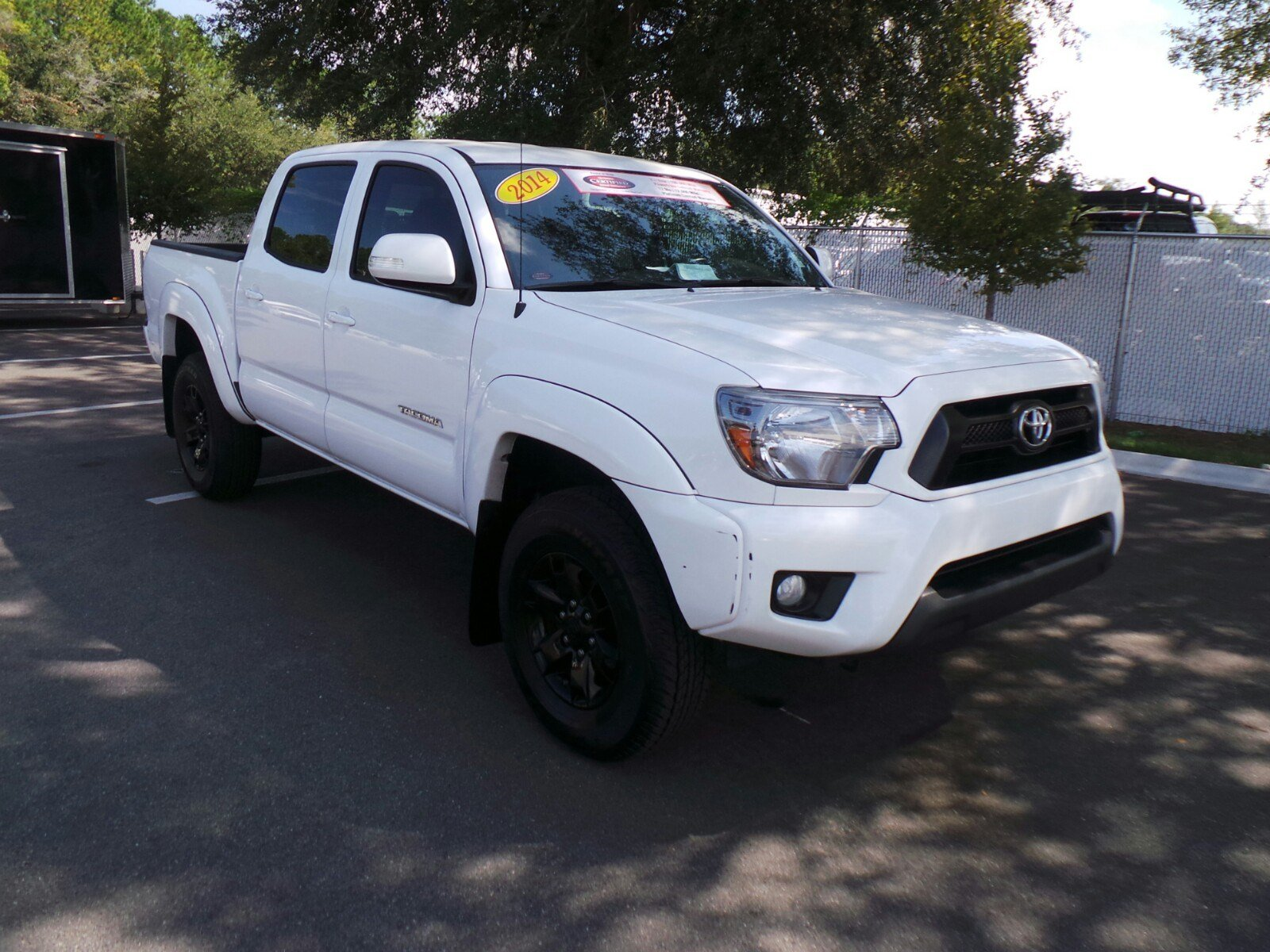 certified pre owned 2014 toyota tacoma prerunner double cab in jacksonville 63590a arlington. Black Bedroom Furniture Sets. Home Design Ideas