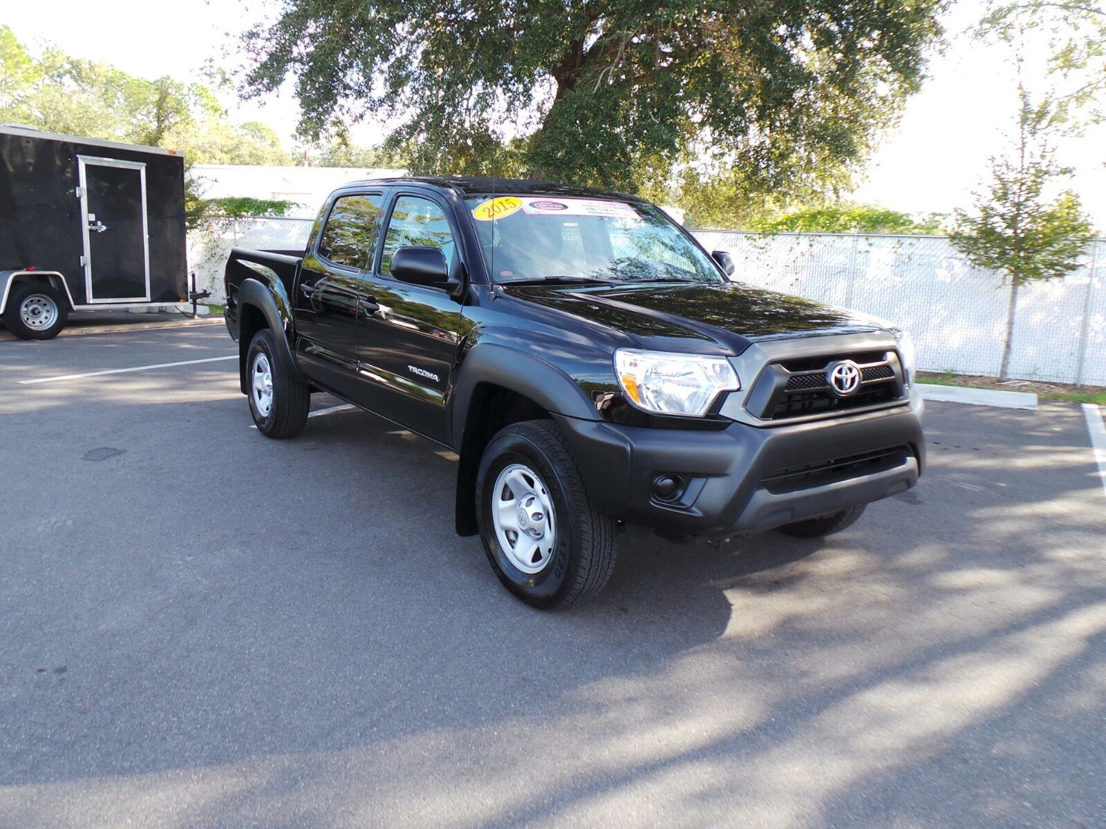 certified pre owned 2015 toyota tacoma prerunner double. Black Bedroom Furniture Sets. Home Design Ideas
