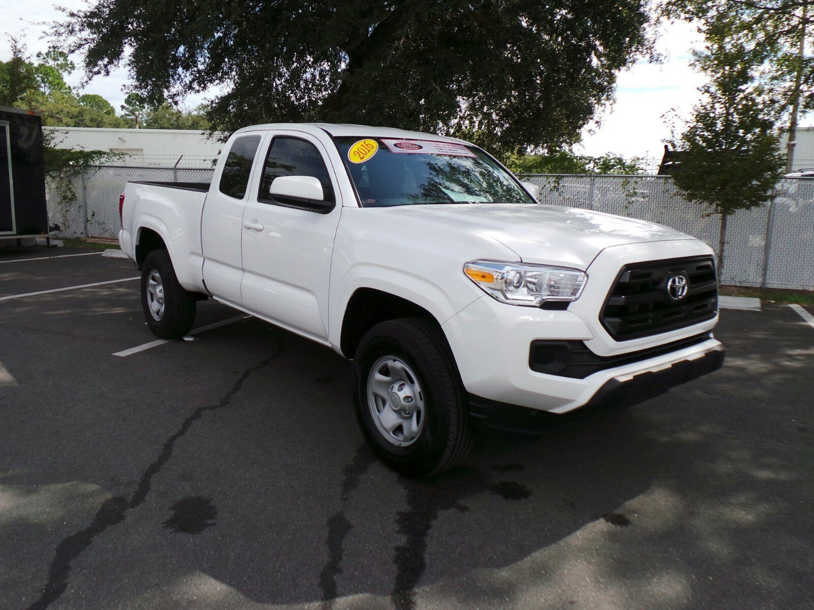certified pre owned 2016 toyota tacoma sr access cab in jacksonville p8035 arlington toyota. Black Bedroom Furniture Sets. Home Design Ideas