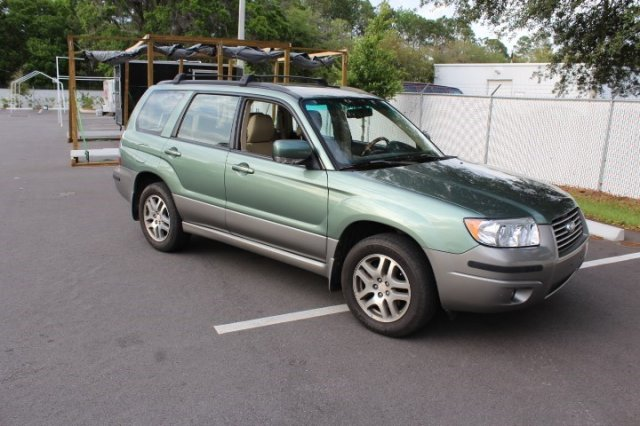 pre owned 2006 subaru forester 2 5 x l l bean edition sport utility in jacksonville 61100a. Black Bedroom Furniture Sets. Home Design Ideas