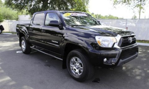 certified pre owned 2014 toyota tacoma prerunner double cab in jacksonville 66615a arlington. Black Bedroom Furniture Sets. Home Design Ideas